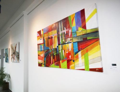 Neue Ausstellung in der Lohnhalle: Rapsodie der Farben