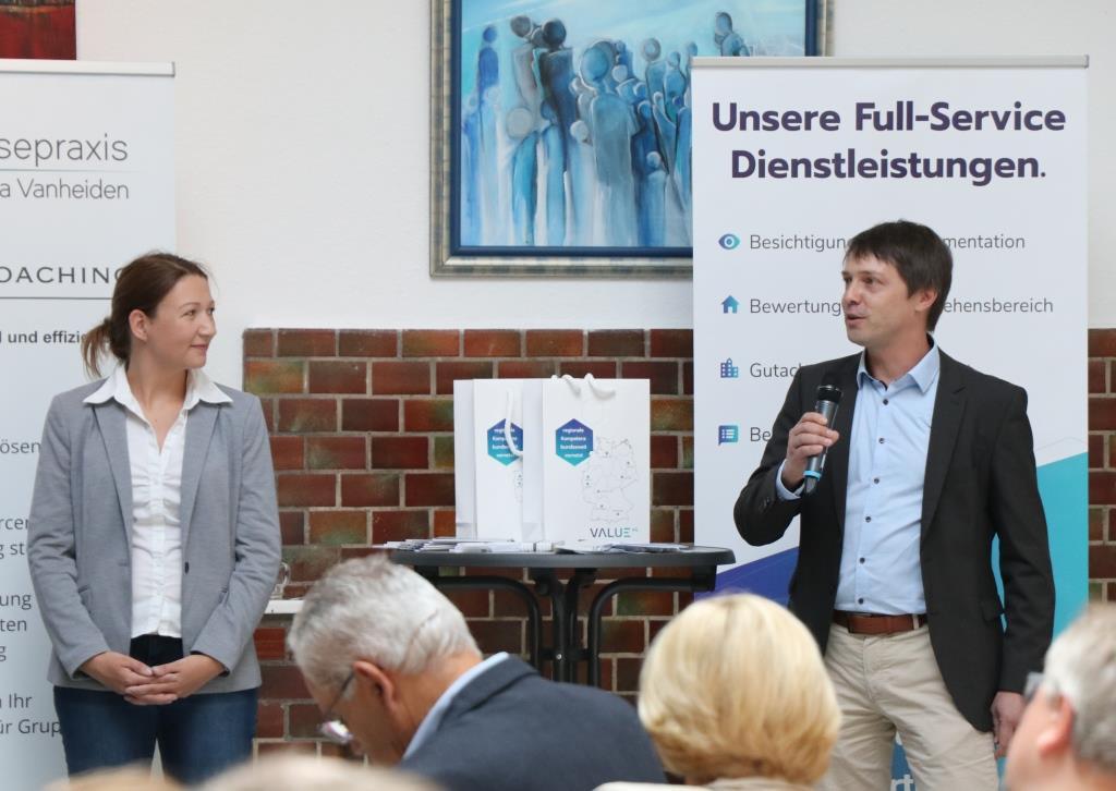 Triple Z Hauptversammlung 2019 Value AG am Infostand