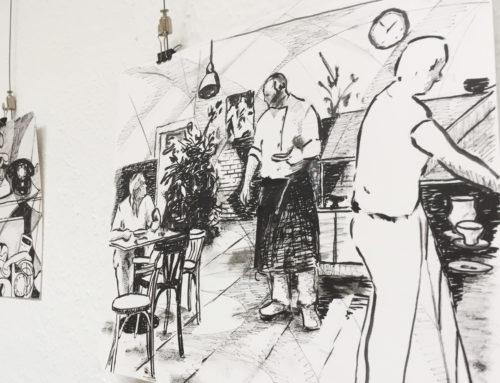 Triple Z auf Leinwand: Neue Ausstellung in der Lohnhalle