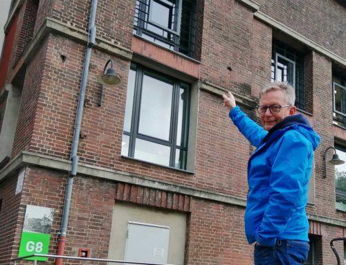 Von der Zeche in den Wasserturm, und stets zurück:  Früherer Mieter Dieter Rehmann betreut Kunden im Triple Z