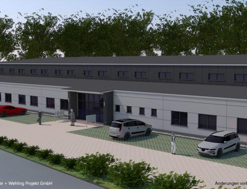 Baustart: Triple Z errichtet Halle für Produktion und Handwerk
